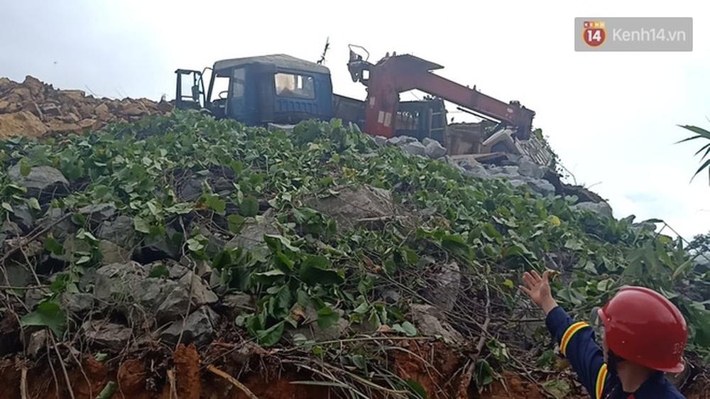 Khung cảnh kinh hoàng tại khu nhà điều hành thủy điện Rào Trăng 3 bị đất đá vùi lấp - Ảnh 13.