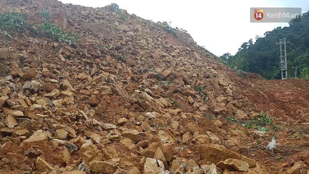 Khung cảnh kinh hoàng tại khu nhà điều hành thủy điện Rào Trăng 3 bị đất đá vùi lấp - Ảnh 10.