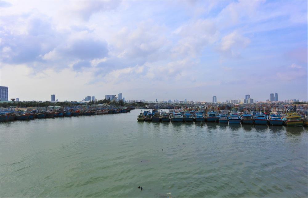 Người dân Đà Nẵng hối hả ứng phó bão số 9 giật cấp 15 đang tiến vào đất liền - Ảnh 17.