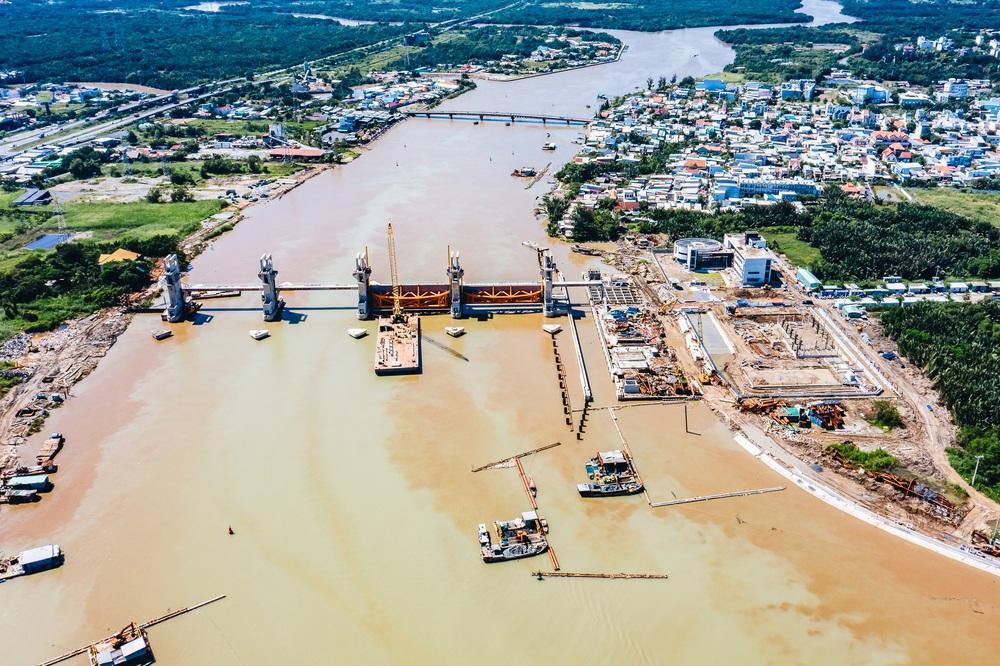 Toàn cảnh công trình chống ngập 10.000 tỷ đồng ở Sài Gòn đã hoàn thành hơn 90% - Ảnh 7.