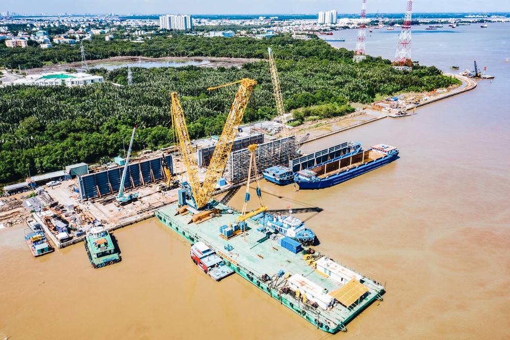 Toàn cảnh công trình chống ngập 10.000 tỷ đồng ở Sài Gòn đã hoàn thành hơn 90% - Ảnh 8.