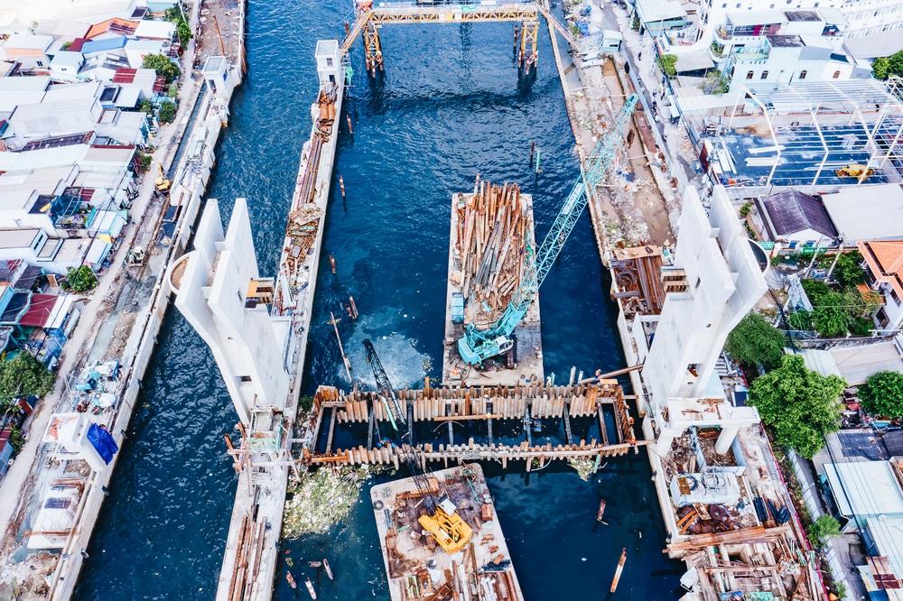 Toàn cảnh công trình chống ngập 10.000 tỷ đồng ở Sài Gòn đã hoàn thành hơn 90% - Ảnh 19.