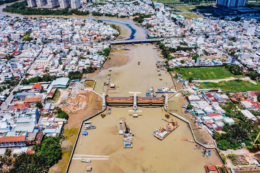 Toàn cảnh công trình chống ngập 10.000 tỷ đồng ở Sài Gòn đã hoàn thành hơn 90% - Ảnh 5.