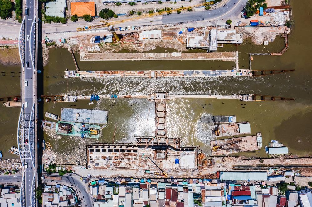 Toàn cảnh công trình chống ngập 10.000 tỷ đồng ở Sài Gòn đã hoàn thành hơn 90% - Ảnh 3.