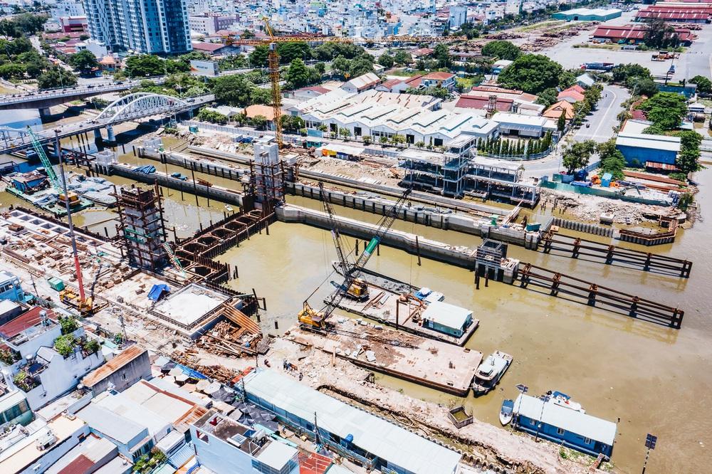 Toàn cảnh công trình chống ngập 10.000 tỷ đồng ở Sài Gòn đã hoàn thành hơn 90% - Ảnh 4.