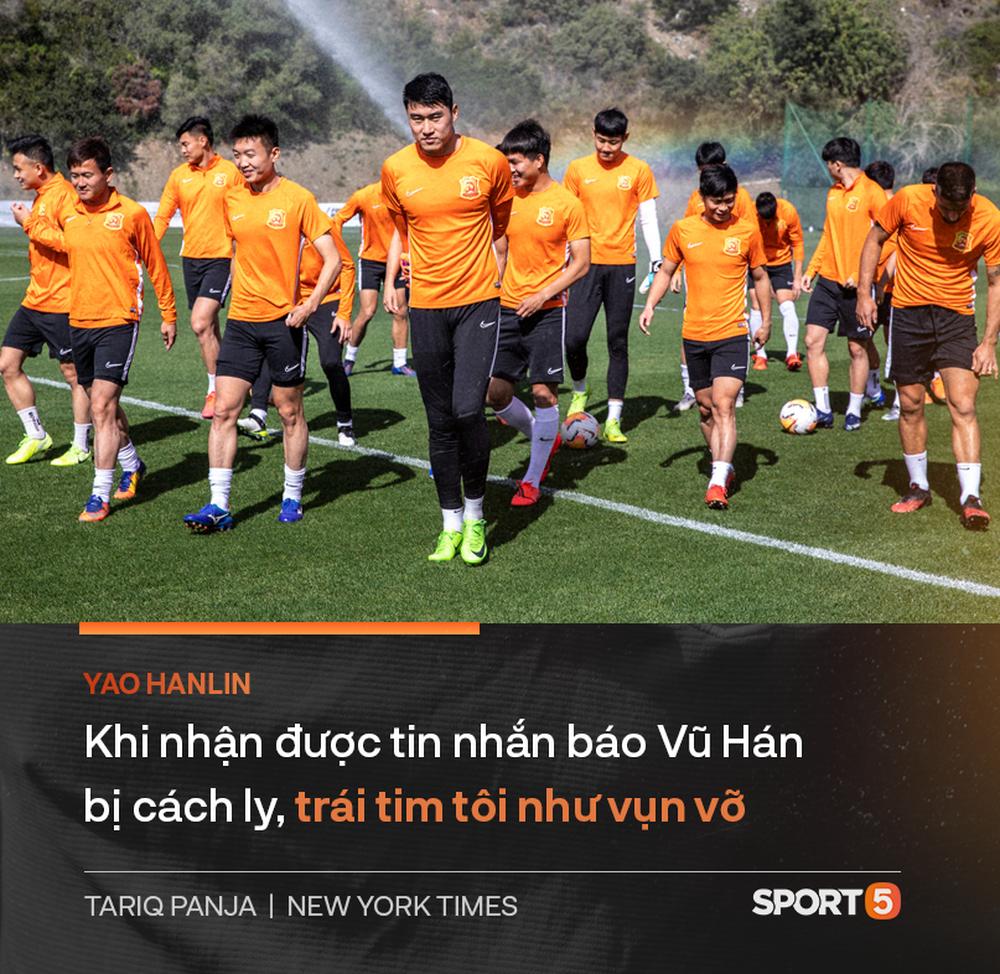 Chuyện lạ về Wuhan Zall, đội bóng có những cầu thủ may mắn thoát khỏi sự tàn phá của COVID-19 tại Trung Quốc nhưng vô tình bị cách ly ở nơi đất khách quê người - Ảnh 5.