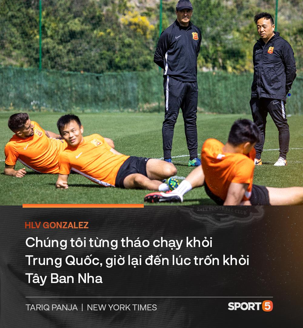 Chuyện lạ về Wuhan Zall, đội bóng có những cầu thủ may mắn thoát khỏi sự tàn phá của COVID-19 tại Trung Quốc nhưng vô tình bị cách ly ở nơi đất khách quê người - Ảnh 8.