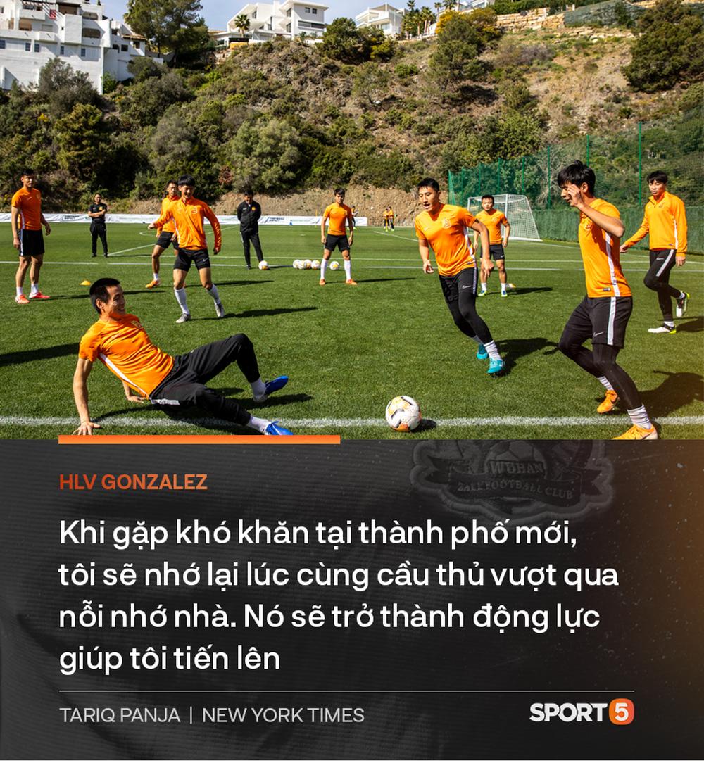 Chuyện lạ về Wuhan Zall, đội bóng có những cầu thủ may mắn thoát khỏi sự tàn phá của COVID-19 tại Trung Quốc nhưng vô tình bị cách ly ở nơi đất khách quê người - Ảnh 10.