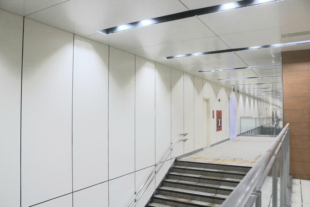 Cận cảnh những hình ảnh bên trong ga ngầm Nhà hát Thành phố của tuyến Metro Bến Thành - Suối Tiên - Ảnh 8.