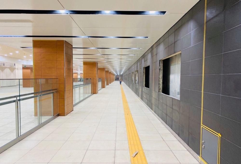 Cận cảnh những hình ảnh bên trong ga ngầm Nhà hát Thành phố của tuyến Metro Bến Thành - Suối Tiên - Ảnh 10.