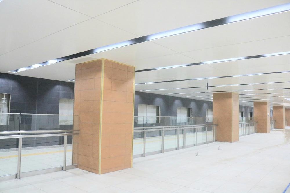 Cận cảnh những hình ảnh bên trong ga ngầm Nhà hát Thành phố của tuyến Metro Bến Thành - Suối Tiên - Ảnh 9.