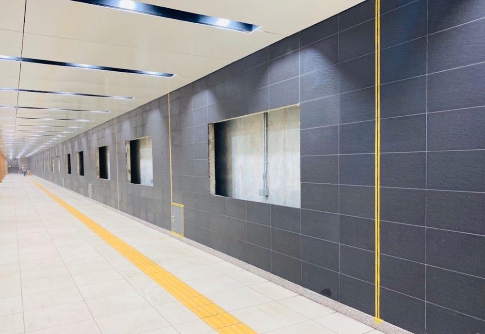 Cận cảnh những hình ảnh bên trong ga ngầm Nhà hát Thành phố của tuyến Metro Bến Thành - Suối Tiên - Ảnh 18.