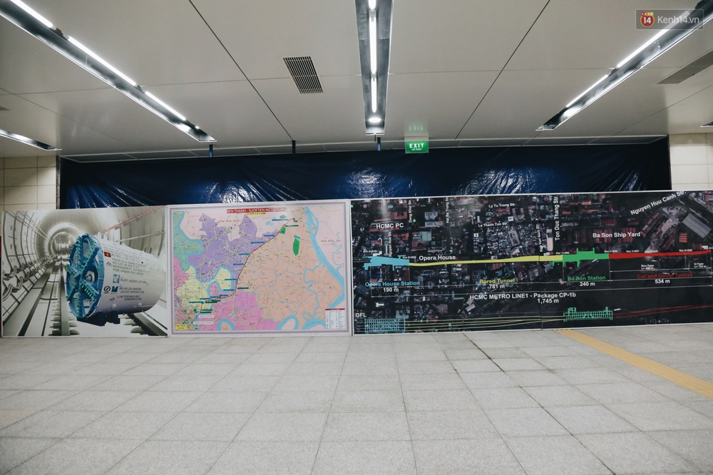"""Ga ngầm Metro đầu tiên được hoàn thành ở Sài Gòn: Ngỡ như """"thiên đường"""" dưới lòng đất, thiết kế theo kiến trúc của Nhà hát Thành phố - Ảnh 7."""
