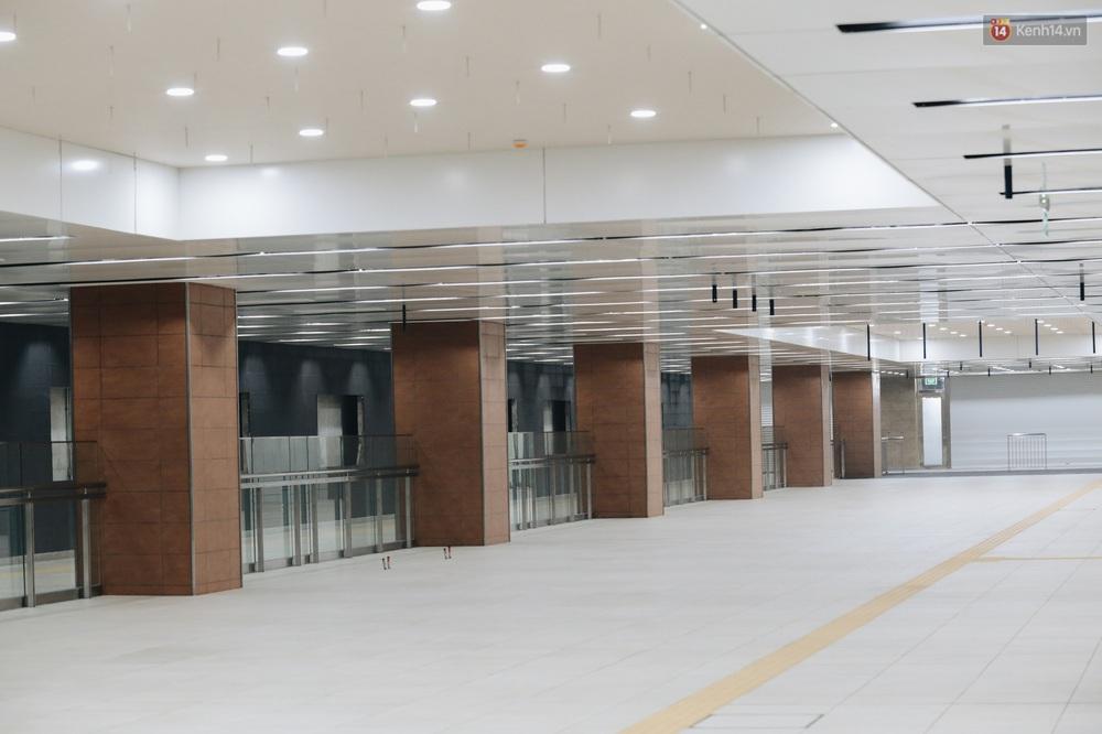 """Ga ngầm Metro đầu tiên được hoàn thành ở Sài Gòn: Ngỡ như """"thiên đường"""" dưới lòng đất, thiết kế theo kiến trúc của Nhà hát Thành phố - Ảnh 13."""