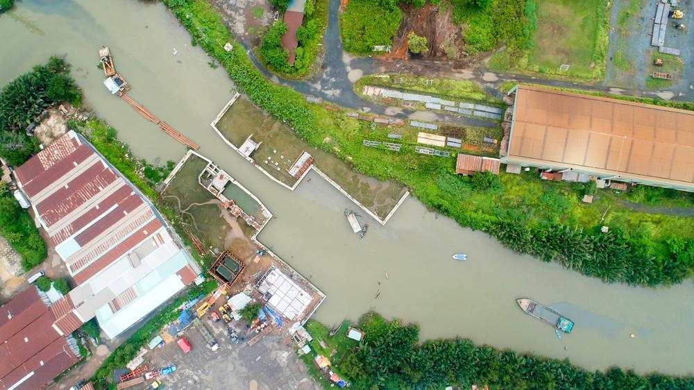 Toàn cảnh công trình chống ngập 10.000 tỷ đồng sắp hoàn thành sau 4 năm thi công ở Sài Gòn - Ảnh 25.