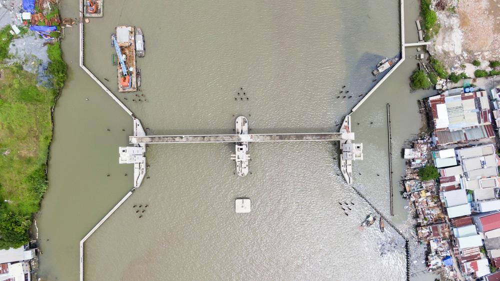 Toàn cảnh công trình chống ngập 10.000 tỷ đồng sắp hoàn thành sau 4 năm thi công ở Sài Gòn - Ảnh 10.