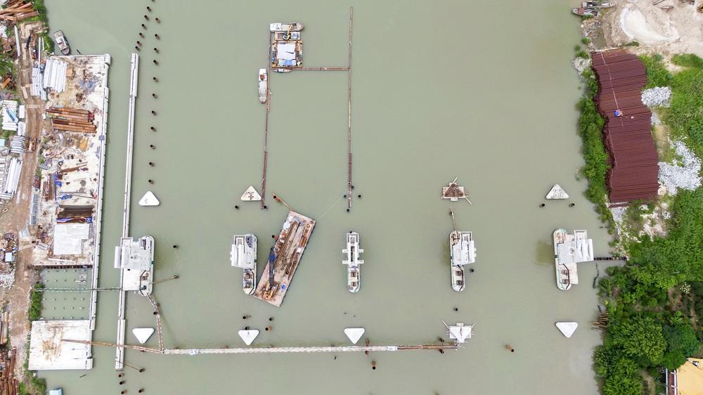 Toàn cảnh công trình chống ngập 10.000 tỷ đồng sắp hoàn thành sau 4 năm thi công ở Sài Gòn - Ảnh 13.