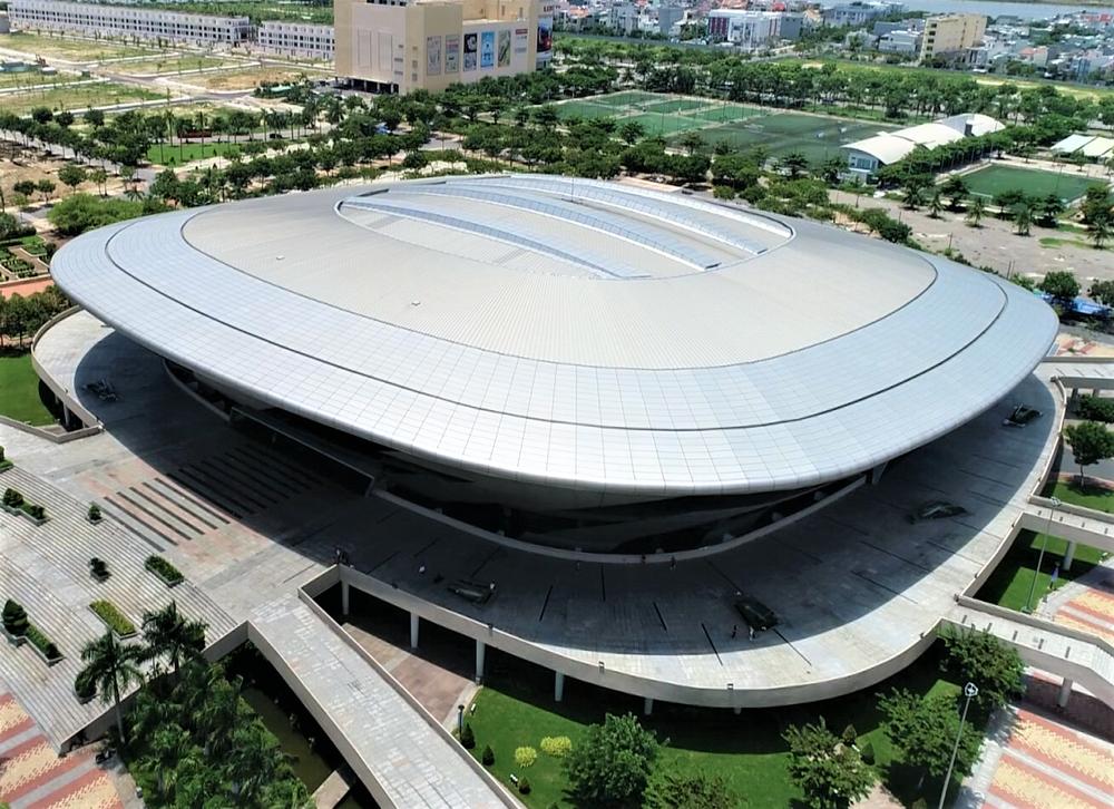Ảnh: Cận cảnh cung thể thao sẽ trở thành bệnh viện dã chiến chống Covid-19 ở Đà Nẵng - Ảnh 18.