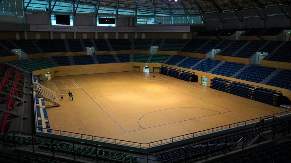 Ảnh: Cận cảnh cung thể thao sẽ trở thành bệnh viện dã chiến chống Covid-19 ở Đà Nẵng - Ảnh 4.