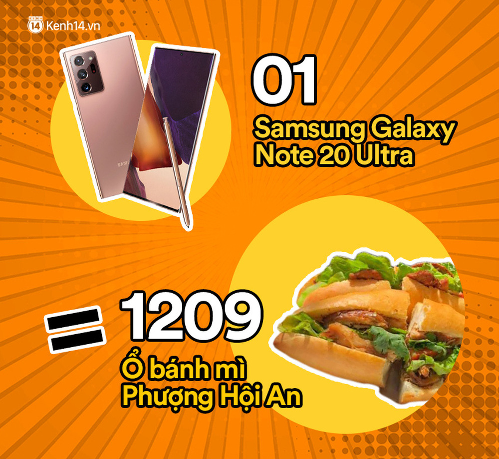 Một chiếc Samsung Galaxy Note20 Ultra vừa ra mắt sẽ đổi được bao nhiêu cốc trà sữa, bao nhiêu bịch bánh tráng trộn? - Ảnh 11.