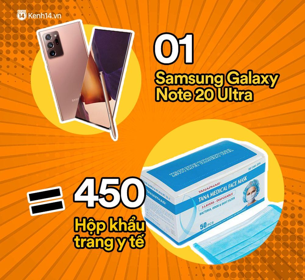 Một chiếc Samsung Galaxy Note20 Ultra vừa ra mắt sẽ đổi được bao nhiêu cốc trà sữa, bao nhiêu bịch bánh tráng trộn? - Ảnh 12.