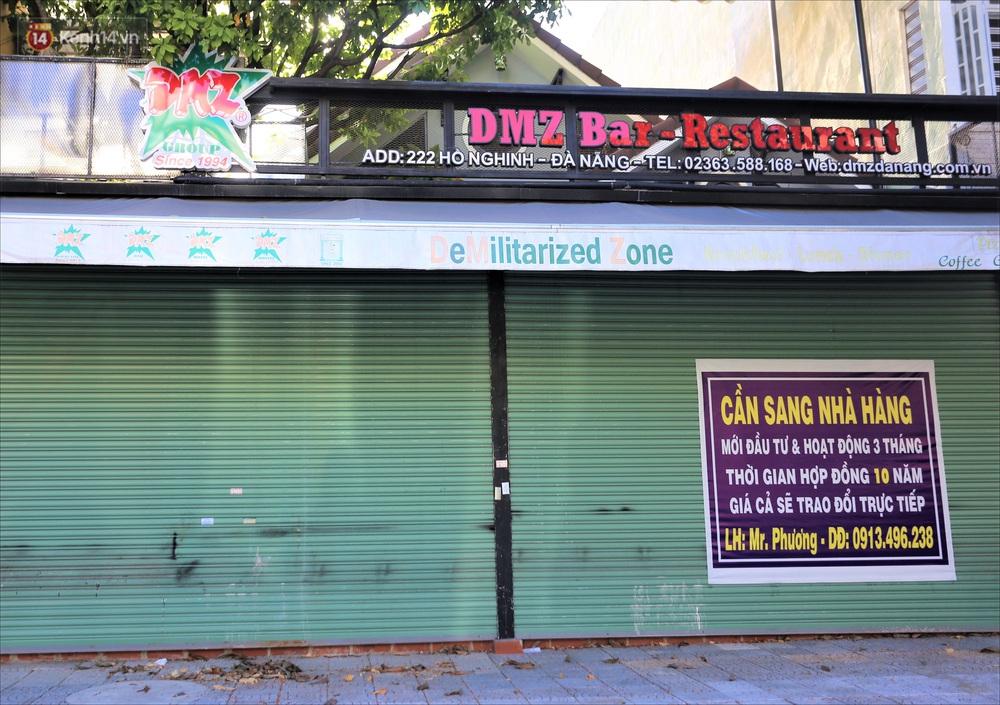 Nhiều hàng quán ở Đà Nẵng vẫn bất động dù đã được phép mở cửa, treo biển sang nhượng - Ảnh 11.