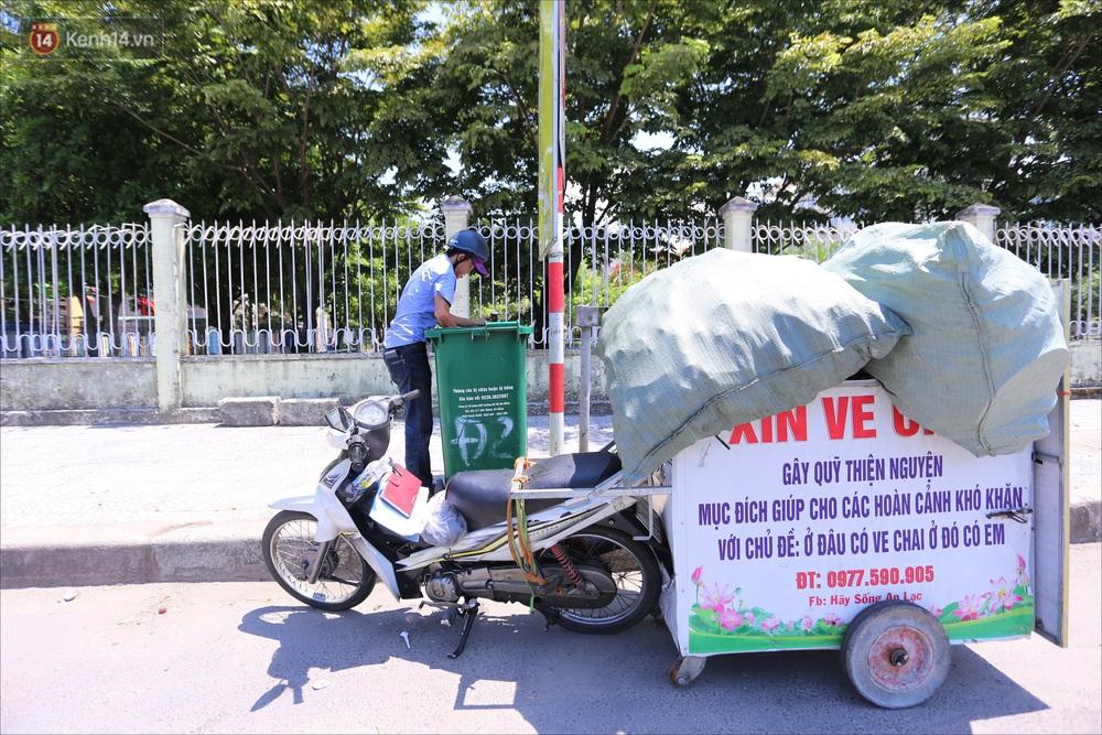 Chàng trai 18 tuổi có trí nhớ 5 phút hơn 6 năm nhặt rác, xin ve chai để làm từ thiện ở Đà Nẵng - Ảnh 2.