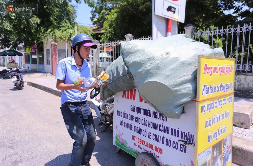 Chàng trai 18 tuổi có trí nhớ 5 phút hơn 6 năm nhặt rác, xin ve chai để làm từ thiện ở Đà Nẵng - Ảnh 9.