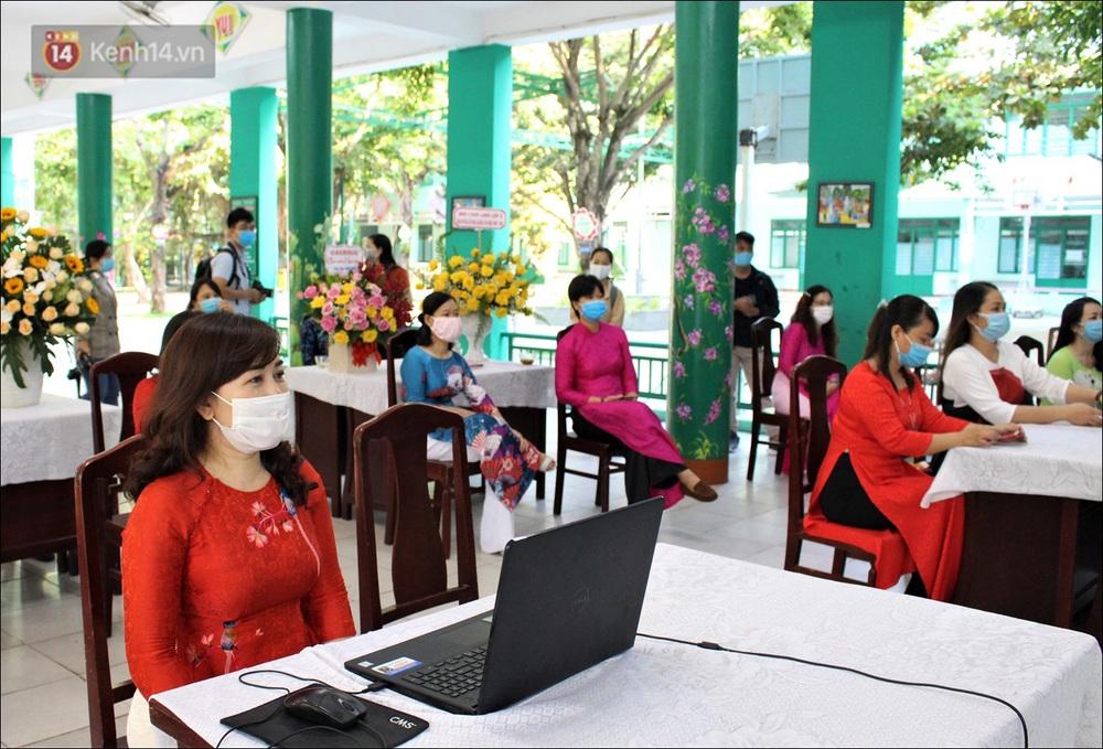 Nữ hiệu trưởng tại Đà Nẵng: 30 năm đi dạy, lần đầu tiên khai giảng không có học sinh - Ảnh 5.
