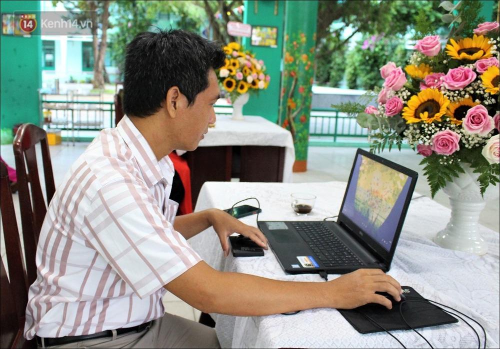 Nữ hiệu trưởng tại Đà Nẵng: 30 năm đi dạy, lần đầu tiên khai giảng không có học sinh - Ảnh 4.