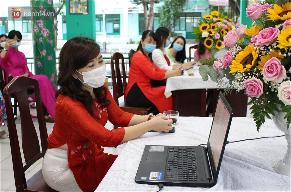 Nữ hiệu trưởng tại Đà Nẵng: 30 năm đi dạy, lần đầu tiên khai giảng không có học sinh - Ảnh 15.