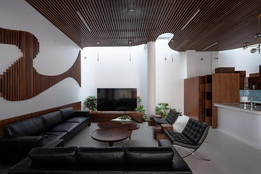 Gia đình yêu thiên nhiên xây nhà 6 tỷ, gộp hai lô đất, thiết kế mặt tiền trồng cây chất khỏi bàn - Ảnh 4.