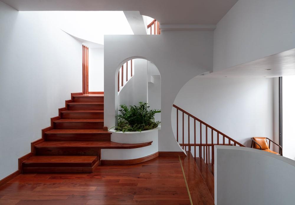 Gia đình yêu thiên nhiên xây nhà 6 tỷ, gộp hai lô đất, thiết kế mặt tiền trồng cây chất khỏi bàn - Ảnh 9.
