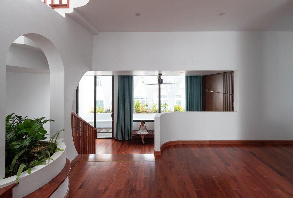 Gia đình yêu thiên nhiên xây nhà 6 tỷ, gộp hai lô đất, thiết kế mặt tiền trồng cây chất khỏi bàn - Ảnh 6.