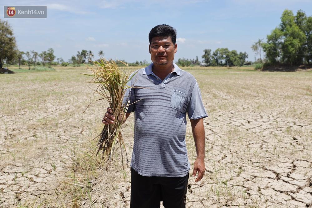Người miền Tây bên những cánh đồng nứt toác vì hạn mặn: Lúa trồng xuống là chết, nước sông mặn đắng cả rồi!  - Ảnh 10.