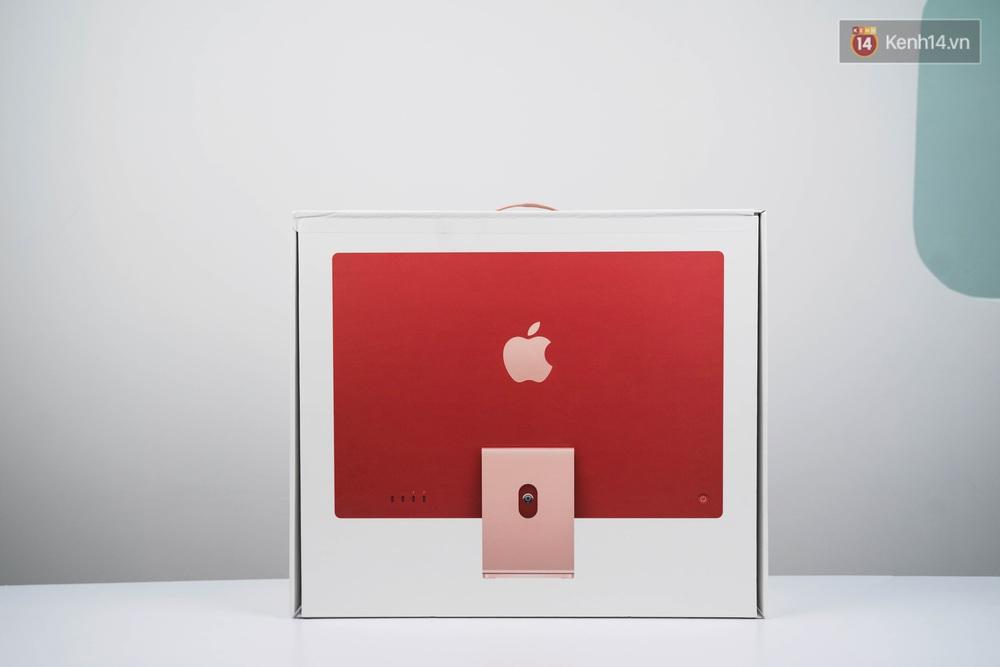 Mở hộp chiếc iMac 2021 đỏ kiêu sa sang chảnh vừa về Việt Nam, nhìn là muốn chốt đơn ngay! - Ảnh 3.