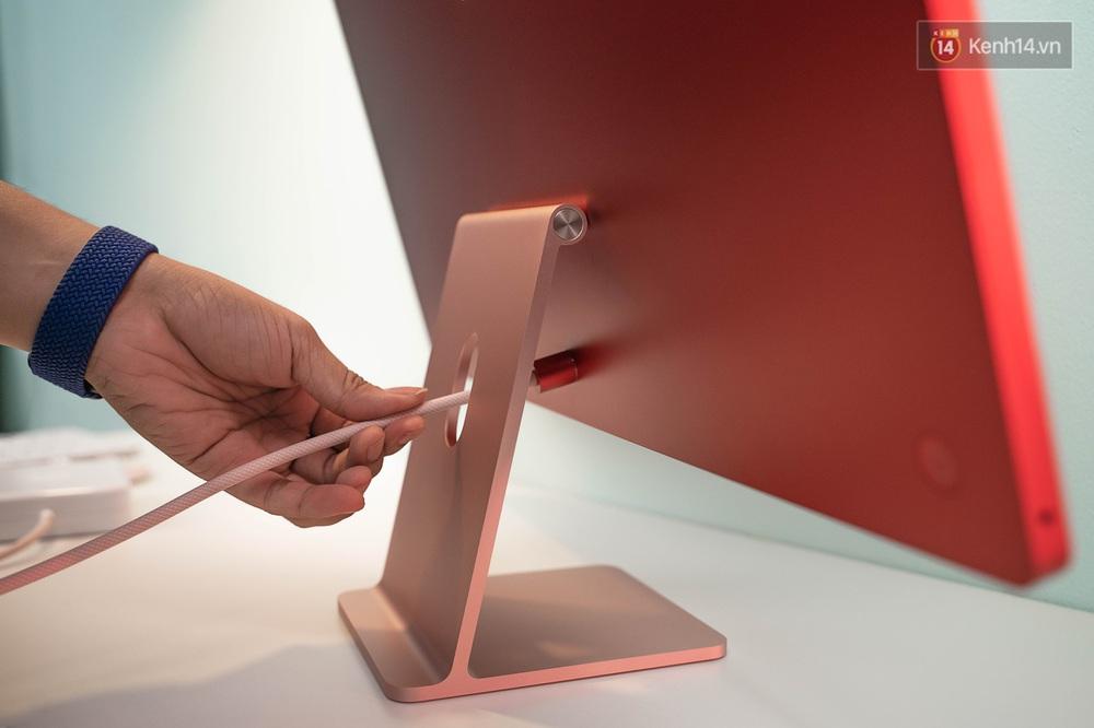 Mở hộp chiếc iMac 2021 đỏ kiêu sa sang chảnh vừa về Việt Nam, nhìn là muốn chốt đơn ngay! - Ảnh 7.