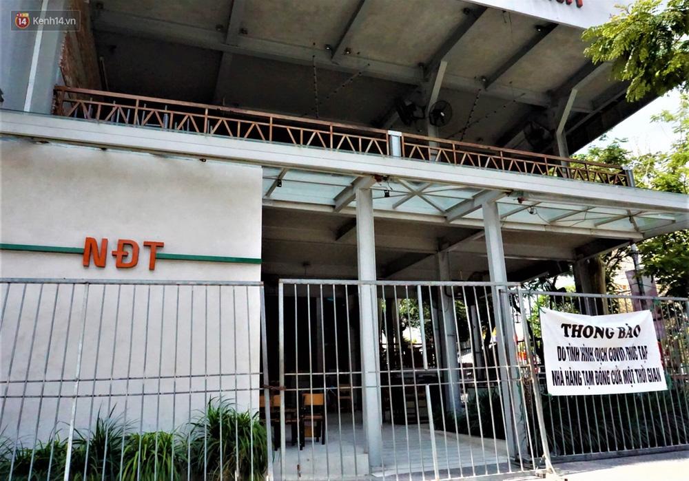 Chưa đến giờ G, nhiều hàng quán ở Đà Nẵng đã chủ động đóng cửa sớm để phòng dịch Covid-19 - Ảnh 5.