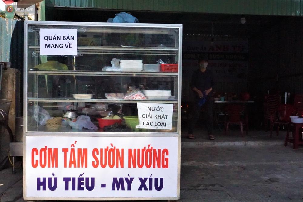 Chưa đến giờ G, nhiều hàng quán ở Đà Nẵng đã chủ động đóng cửa sớm để phòng dịch Covid-19 - Ảnh 8.