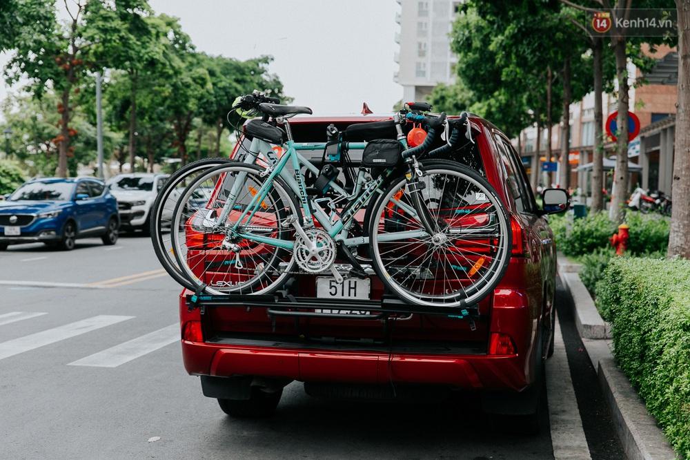 Chuyện không tưởng: Người Sài Gòn đang có trào lưu chạy xe đạp bạc triệu giữa mùa dịch, đầu tư không kém mấy tay đua ở Tour de France - Ảnh 6.