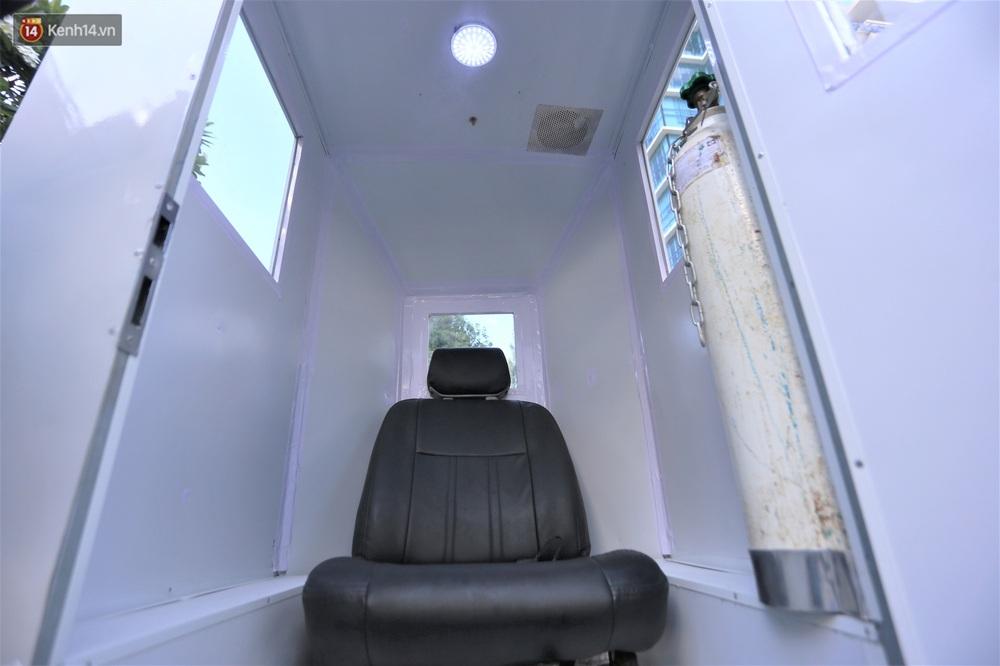 Giảng viên ĐH Bách Khoa sáng chế cabin chở bệnh nhân COVID-19 trong khu cách ly - Ảnh 2.