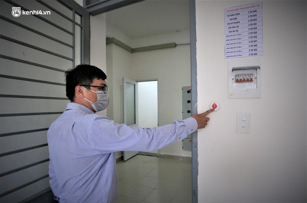 Ảnh: Cận cảnh Bệnh viện dã chiến số 1 điều trị bệnh nhân COVID-19 ở Đà Nẵng - Ảnh 11.
