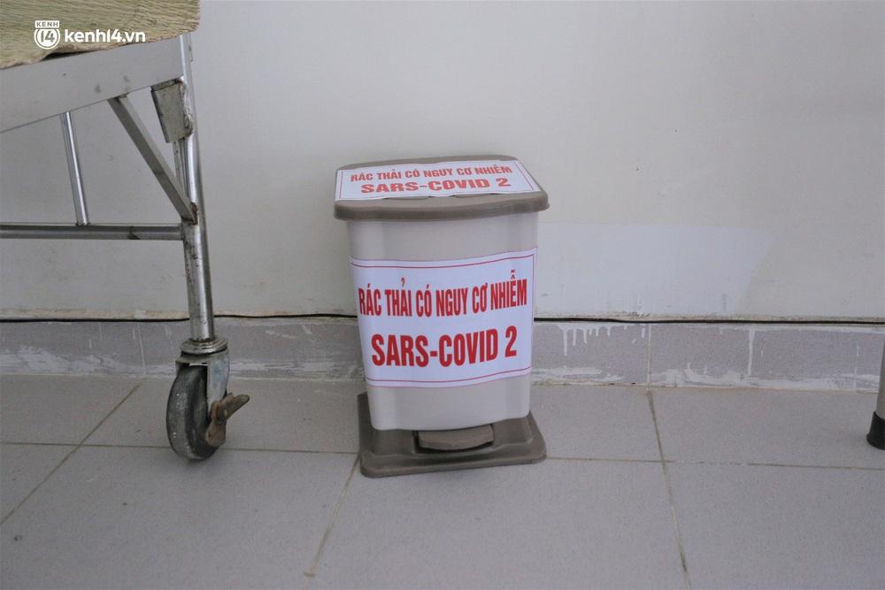 Ảnh: Cận cảnh Bệnh viện dã chiến số 1 điều trị bệnh nhân COVID-19 ở Đà Nẵng - Ảnh 12.