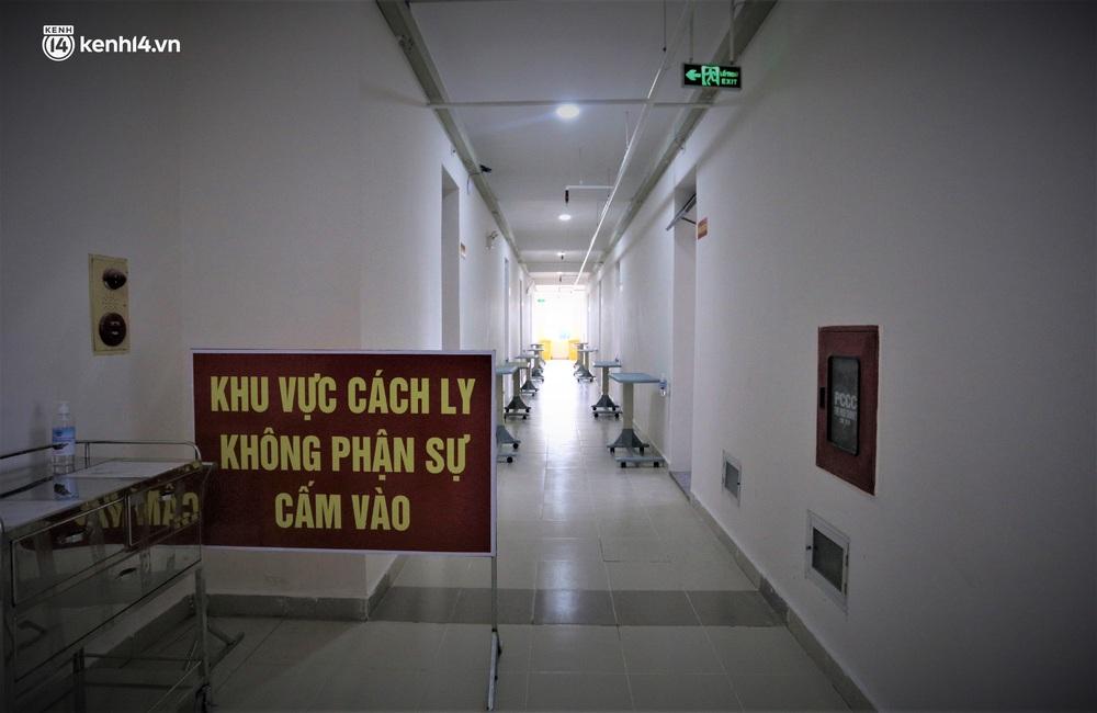 Ảnh: Cận cảnh Bệnh viện dã chiến số 1 điều trị bệnh nhân COVID-19 ở Đà Nẵng - Ảnh 8.