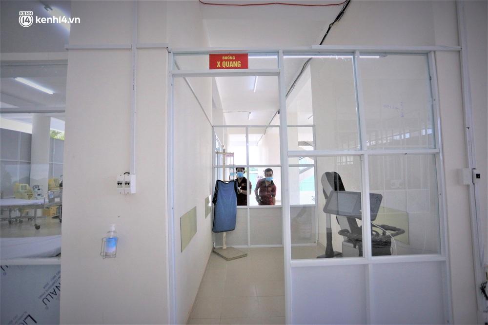 Ảnh: Cận cảnh Bệnh viện dã chiến số 1 điều trị bệnh nhân COVID-19 ở Đà Nẵng - Ảnh 18.