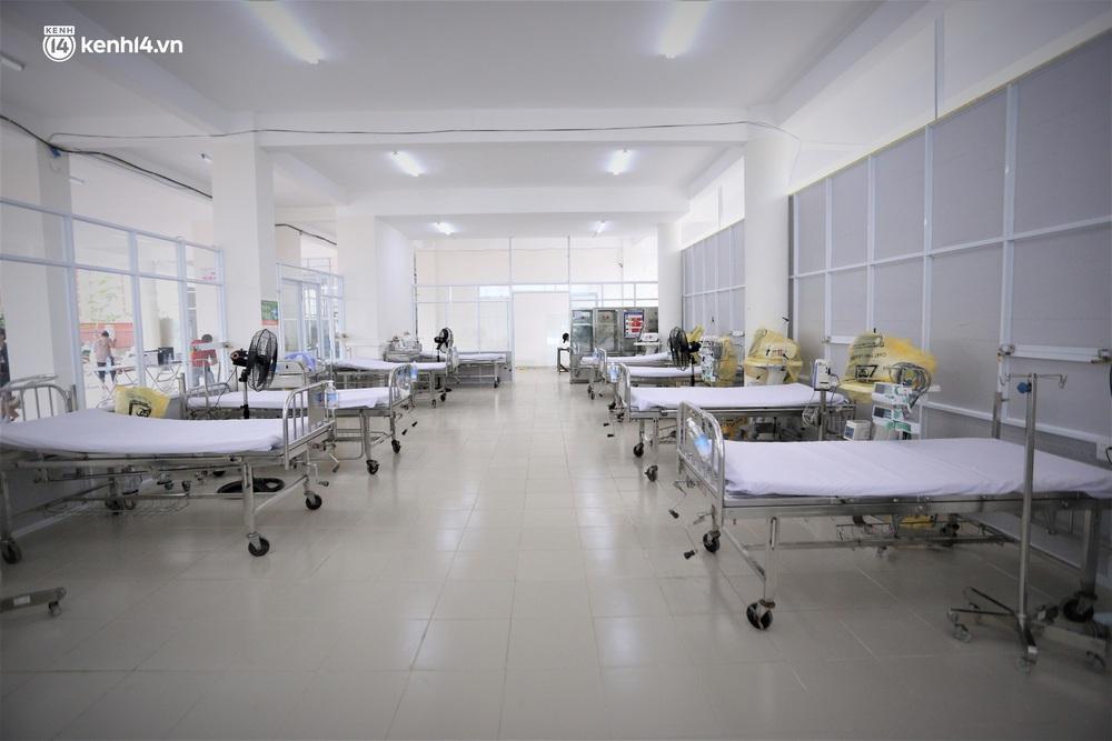Ảnh: Cận cảnh Bệnh viện dã chiến số 1 điều trị bệnh nhân COVID-19 ở Đà Nẵng - Ảnh 3.