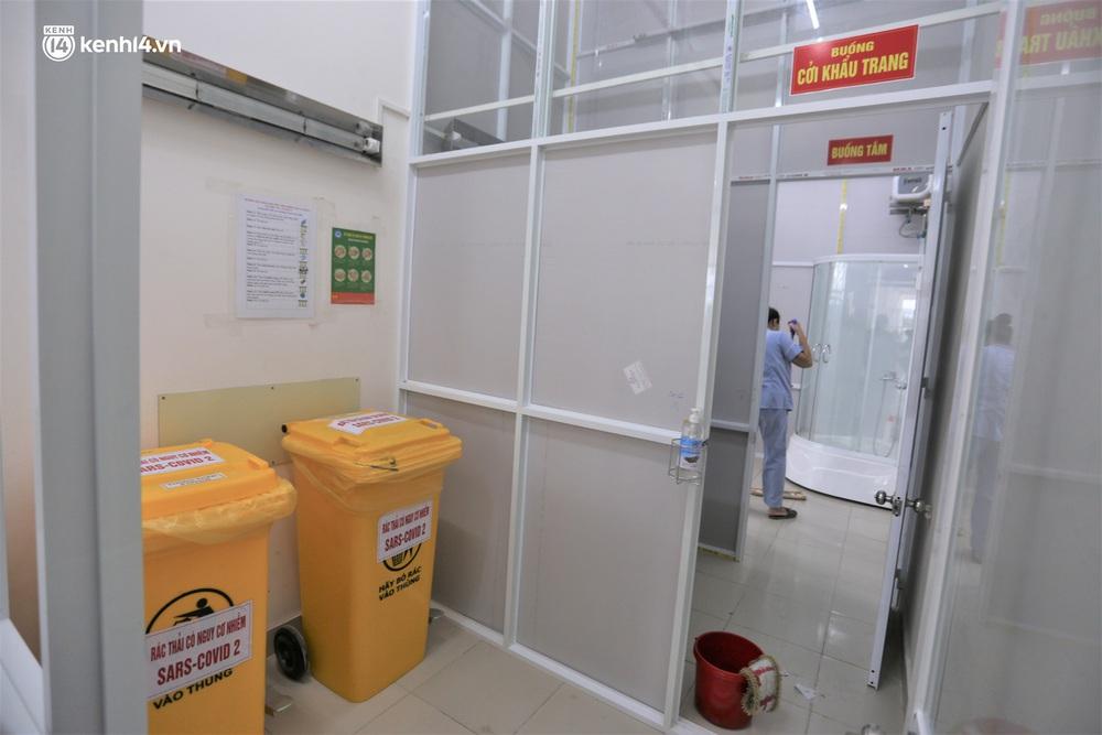 Ảnh: Cận cảnh Bệnh viện dã chiến số 1 điều trị bệnh nhân COVID-19 ở Đà Nẵng - Ảnh 16.