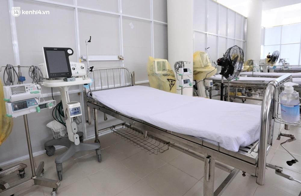 Ảnh: Cận cảnh Bệnh viện dã chiến số 1 điều trị bệnh nhân COVID-19 ở Đà Nẵng - Ảnh 5.