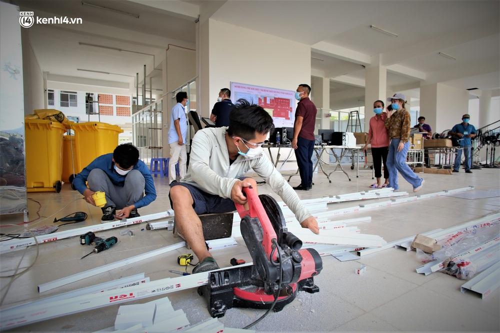 Ảnh: Cận cảnh Bệnh viện dã chiến số 1 điều trị bệnh nhân COVID-19 ở Đà Nẵng - Ảnh 23.