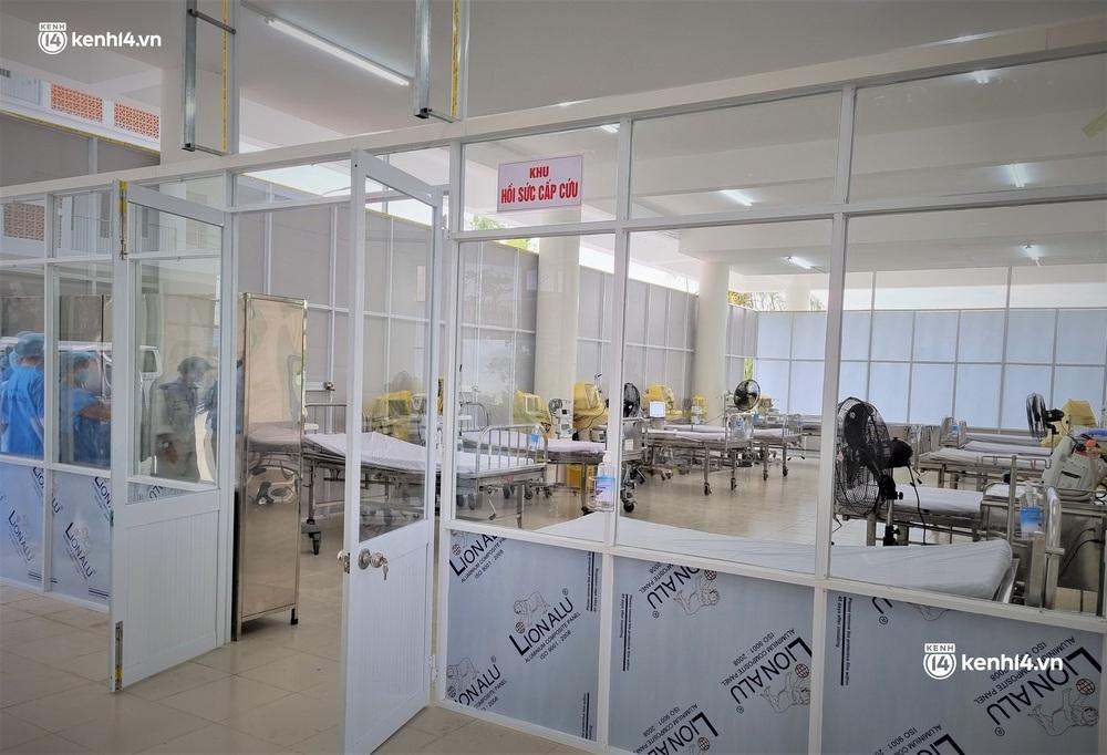 Ảnh: Cận cảnh Bệnh viện dã chiến số 1 điều trị bệnh nhân COVID-19 ở Đà Nẵng - Ảnh 4.